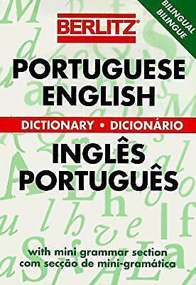 Portuguese-English Dictionary (Berlitz Bilingual Dictionaries), Berlitz Guides,