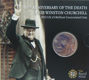 2015-UK-5-5-Pound-Coin-50th-Anniv-of-the-Death-of-Winston-Churchill-Brand-New