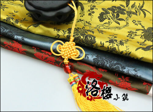 Chinese clothing Dress Kimono Cloth COS Cheongsam Fabric Brocade Flowers Birds