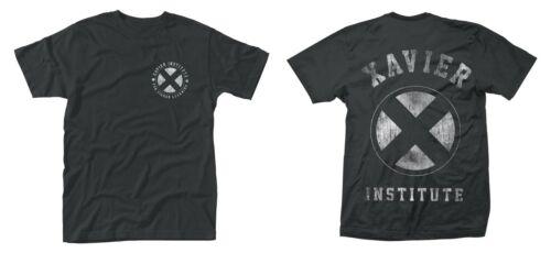 MARVEL X-Men-Institute nouveau XL Homme Front /& Back Print T-shirt