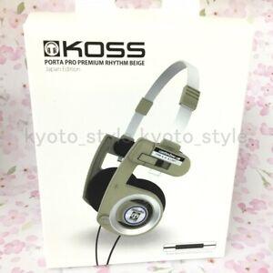 Koss-Portapro-Premium-Ritmo-Beige-27061-Japon