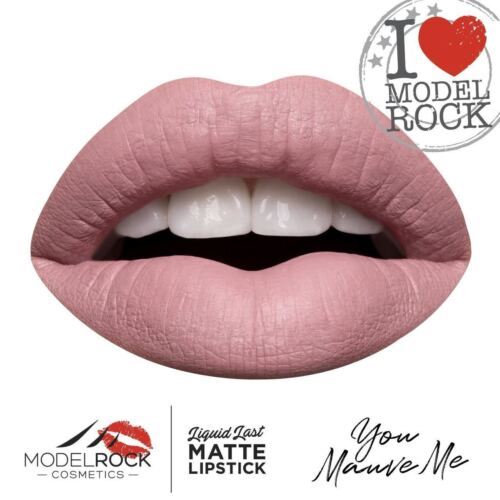 MODELROCK Liquid to Matte Lipstick YOU MAUVE ME model rock lipcolour last Vegan