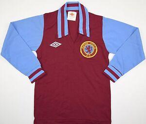 44d6550263c 1976-1981 ASTON VILLA UMBRO HOME FOOTBALL SHIRT (SIZE BOYS)   eBay