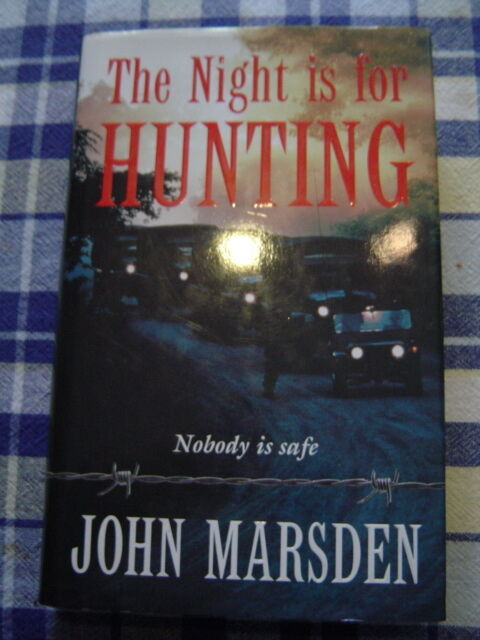 John Marsden  THE NIGHT IS FOR HUNTING   HBDJ  ExCOND!!