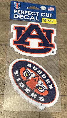 Wincraft NCAA Auburn University Tigers 4x5 Perfect Cut Decal