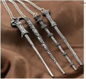 Necklace-Harry-Potter-Hermione-Dumbledore-Voldemort-Magic-Wand-Pendent
