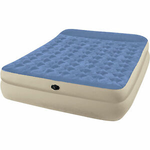 Intex Queen 18 Quot Raised Built In Pillow Rest Airbed
