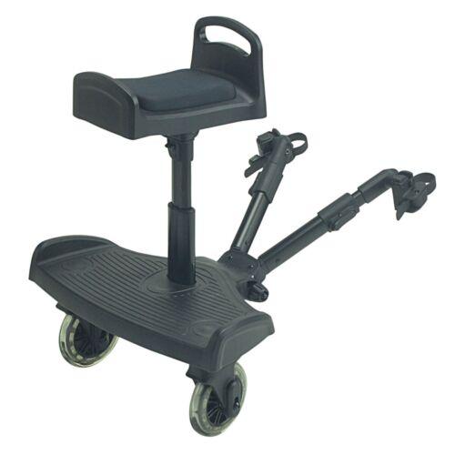 Ride on Board avec selle compatible avec Venicci Shadow-Noir