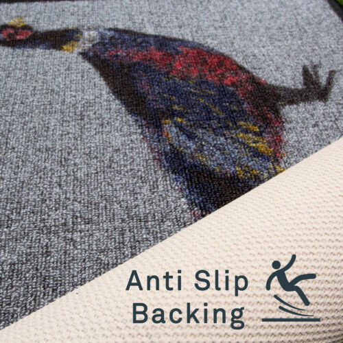Modern Animal Theme Doormat Anti Slip Countryside Kitchen Mat Washable Door Mats