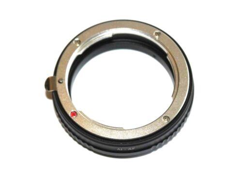 To Minolta AF Sony Alpha  A Mount AI AF  Nikon F AI Objektiv Lens Adapter an