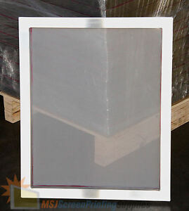 "4-Pack 18""x20"" Aluminum Frame Printing Screens 160 tpi Mesh by MSJ"