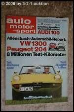 AMS Auto Motor Sport 14/70 Alfa 1750 Spider Range Rover VW 1300 Käfer