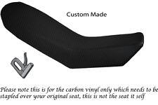 CARBON FIBRE VINYL CUSTOM FITS KTM ADVENTURE 990 950 DUAL SEAT COVER