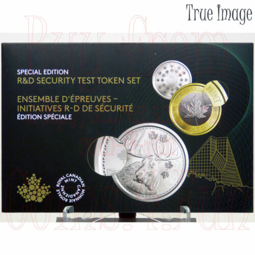 R/&D Security Test 6-Token Set Royal Canadian Mint 2018 Canada