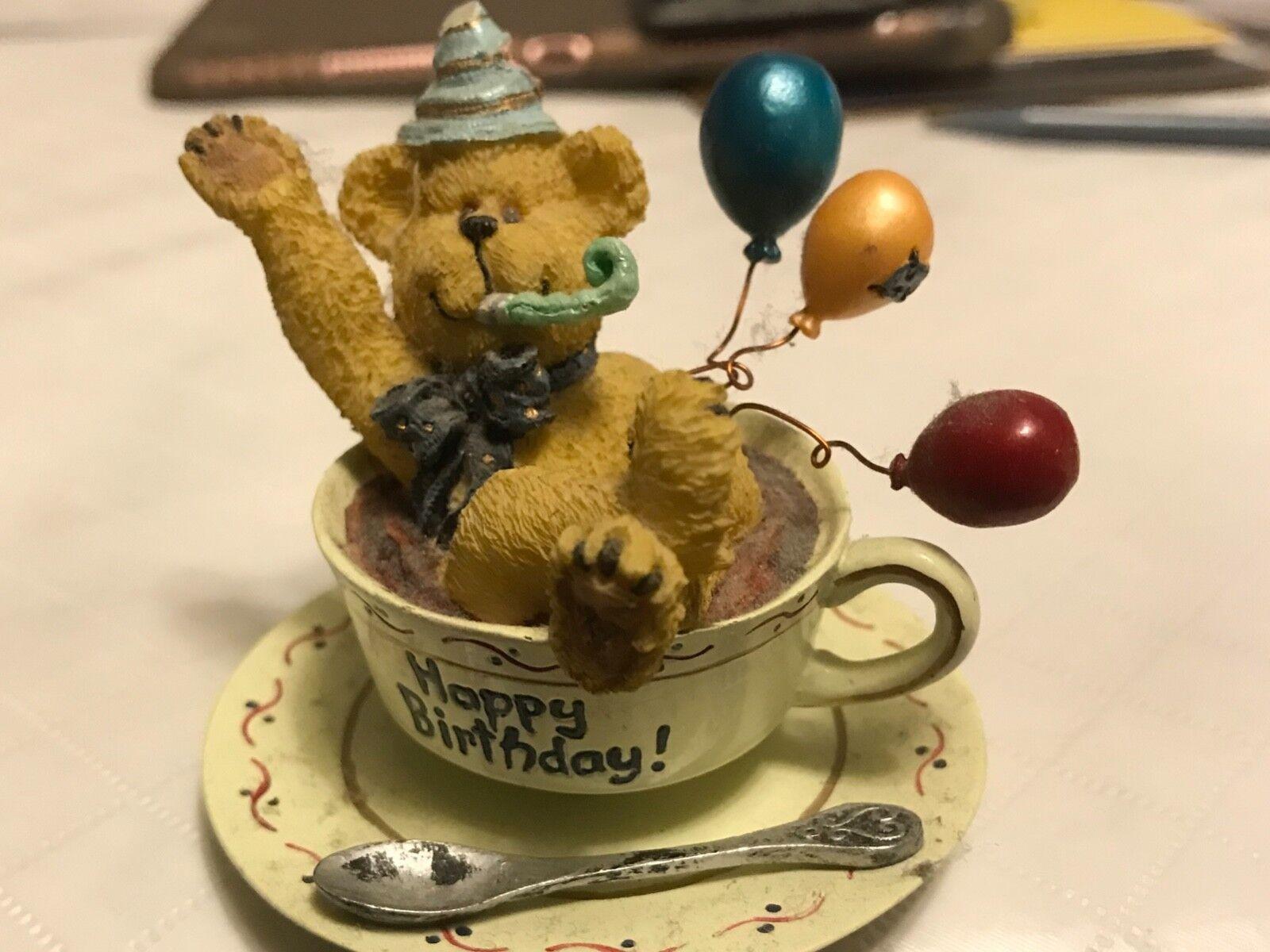 NWT NWT NWT H.B. Teabearie 2003 Happy Birthday  24320 26e0a7