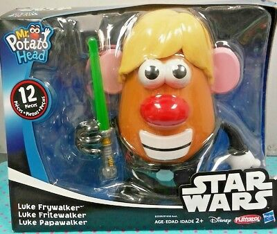 Hasbro Playskool Mr Potato Head Star Wars Luke Frywalker Toy NEW
