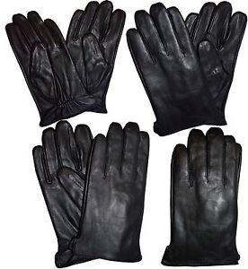 Acheter Pas Cher Italien De Style Pour Homme Fin Gants Cuir 2xl Hiver Noir Gants Guanti Di Pelle Design Moderne