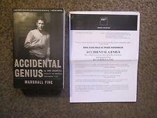 "MARSHALL FINE ""ACCIDENTAL GENIUS-HOW JOHN CASSAVETES..."" BRAND NEW W/PRESS NOTES"