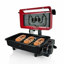 Electric Grill Indoor Bbq Cooking Portable Outdoor Griddle Dishwasher Safe New