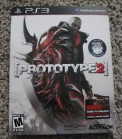 Prototype 2 Radnet Edition With Slipcover Playstation 3 Brand Sealed Ps3