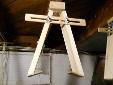 Original Hand Free Hanging Cuckoo Clock Repair Parts Test Stand Bracket