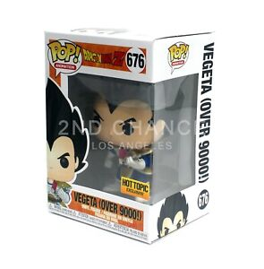 MINT-Funko-Pop-Dragon-Ball-Z-Vegeta-Over-9000-676-Hot-Topic-Exclusive-Vinyl-Fig