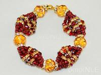 Ilde Santeria Ifa Orisha Bracelet Idde Mazo Oya Glass Beads Oya Cemetery Owner