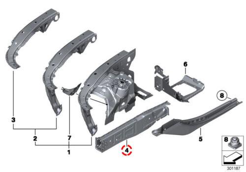 Basis BMW 5/' 6/' 7 Series F07 F10 F11 F06 F12 F13 /& LCI Engine Support Right