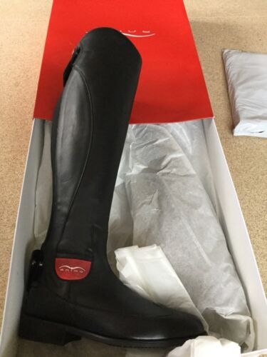 Animo Long Riding Boots BN 35S Black rrp 569