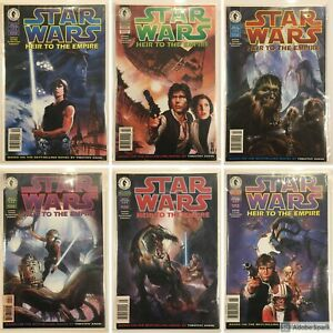 STAR-WARS-Comics-Heir-To-The-Empire-Complete-Series-1-2-3-4-5-amp-6-Dark-Horse