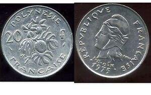 Polynesie Francaise 20 Francs 1975