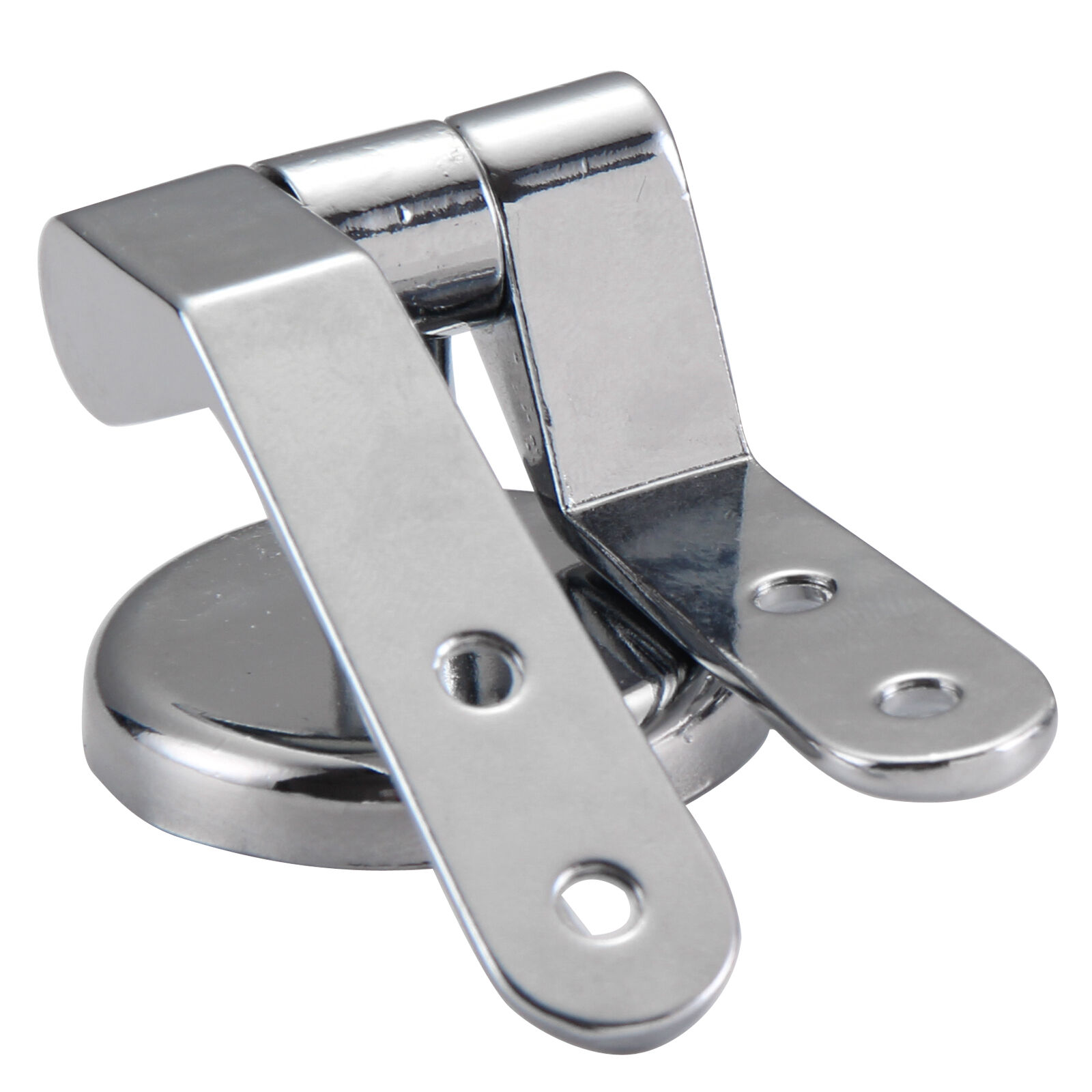 Replacement Polished Chrome Wc Toilet Seat Hinges Fittings