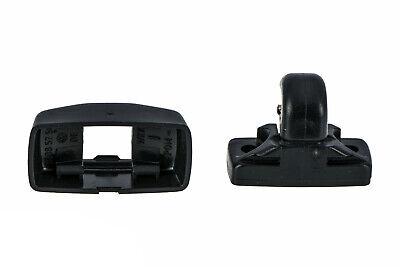 Fit for 13-18 V.W ВееtІе /& 07-16 Eos Titanium Black Sunvisor Clip /& Cover