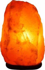 Natural Himalayan  Salt Lamp S Shape Ionising Healing Corded UK Plug