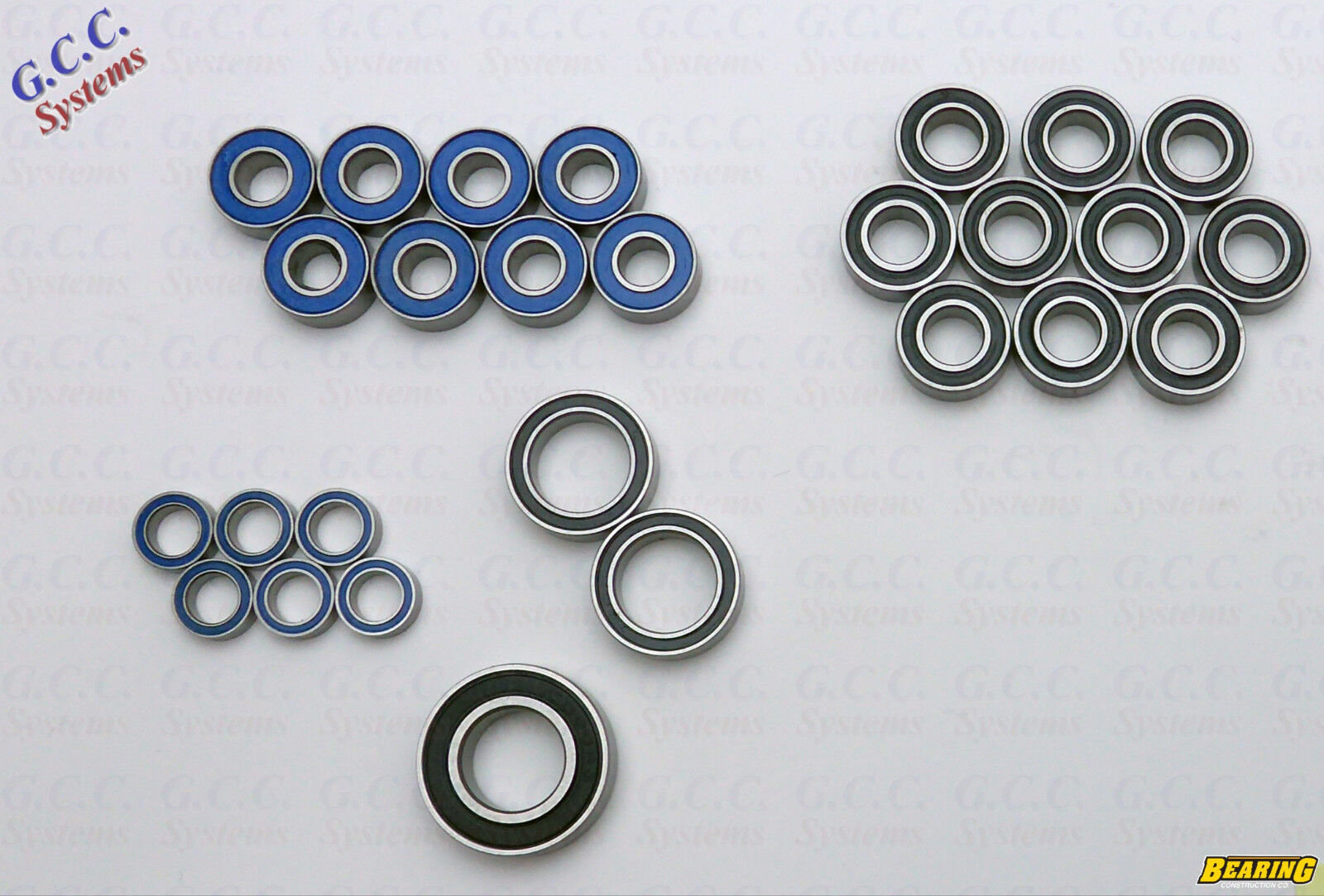Quality Replacement Bearing Bearing Bearing Set For Traxxas S-Maxx - BRAND NEW 01e83e