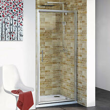 """NEW 30"""" x 72"""" ONE-PANEL FRAMED GLASS PIVOT SHOWER DOOR ENCLOSURE FREE SHIPPING"""