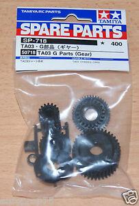 Tamiya-50718-TA03-G-Parts-Gear-G-Parts-TA-03-TA03R-TA03F-TA03RS-TA03RS