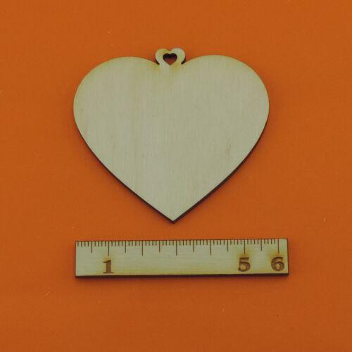 6cm 8cm Holzherzen Herz EHH Tischdeko Hochzeit 11cm Tischkarte Dekoherz