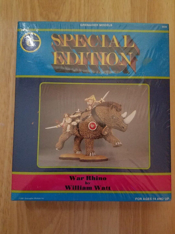 Grenadier modellllerler särskild Edition War Rhino bu William Watt