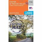 Exeter and the Exe Valley by Ordnance Survey (Sheet map, folded, 2015)