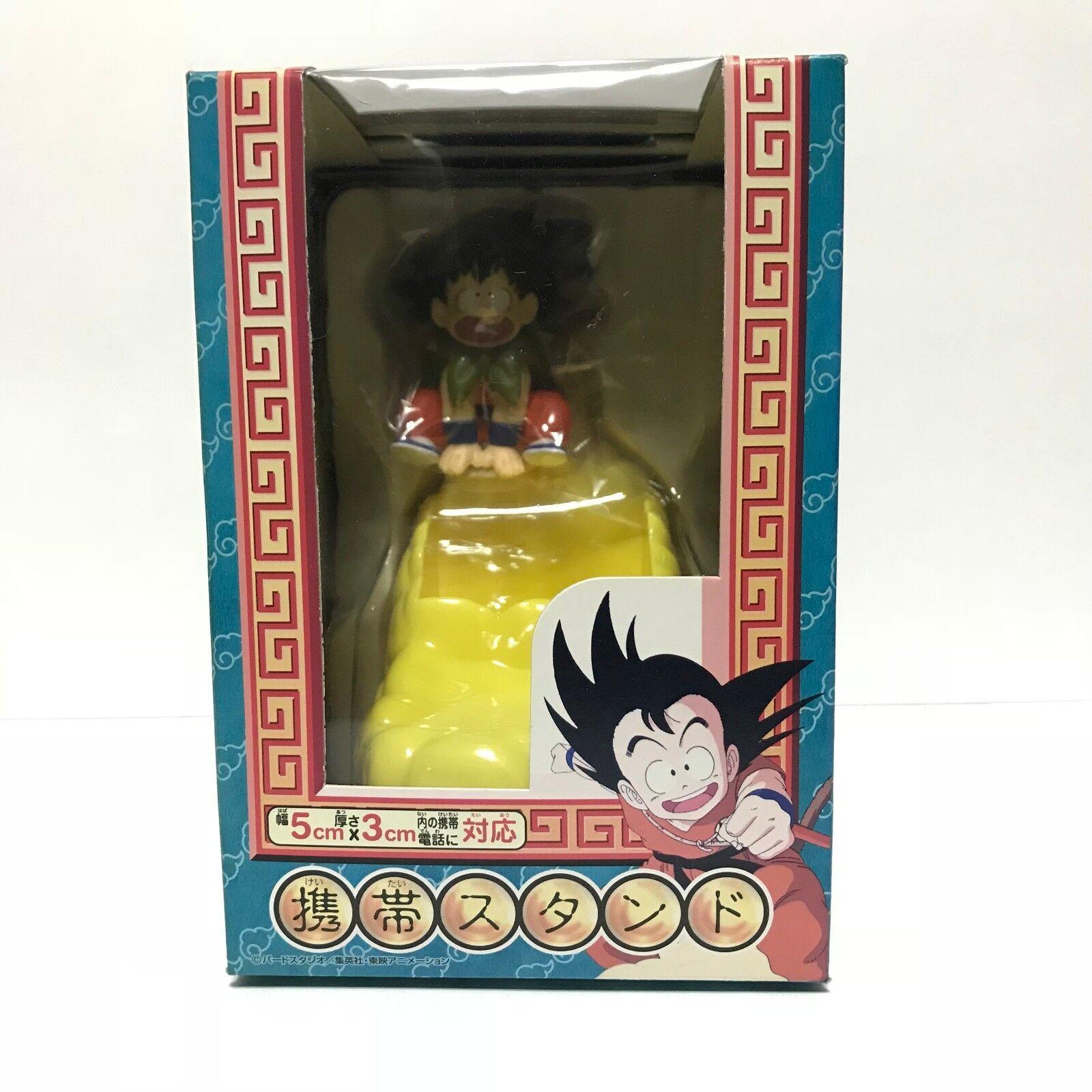 Dragon Ball Son Goku mobile phone stand Banpresto Japan Authentic Rare NEW