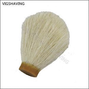 19mm 65mm natural horse hair shaving brush knot for diy - Natural horse hair interior upholstery brush ...