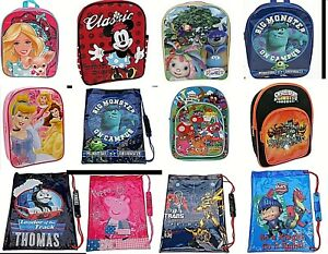 Disney ZOOTOPIA Kids Trainer Shoe School PE Lunch Drawstring Backpack Bag
