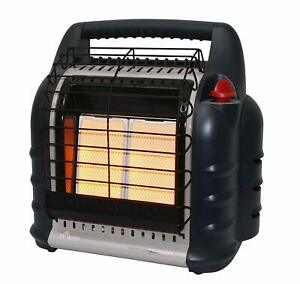 Mr. Heater MH18B 18000 BTU Hunting Big Buddy Portable Propane Gas Heater, Grey