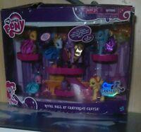 My Little Pony Royal Ball At Canterlot Castle Toy Set New Damaged Box