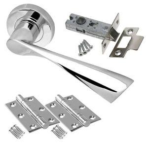 Mariner Internal Door Handle Pack-Lever on Rose Latch Lock ...