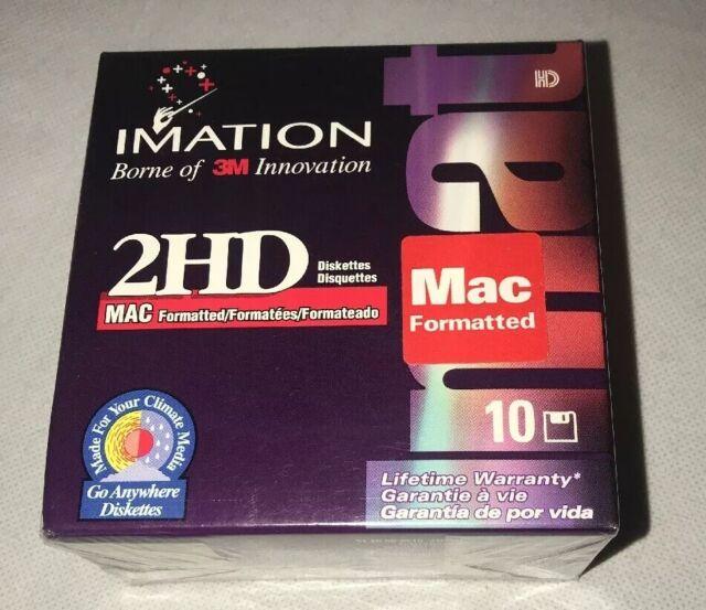 2HD Imation 3M NEW 10 Discs