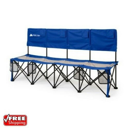 Swell Folding Camping Tournaments Soccer Picnic 4 Person Convertible Bench Chair Seat Creativecarmelina Interior Chair Design Creativecarmelinacom