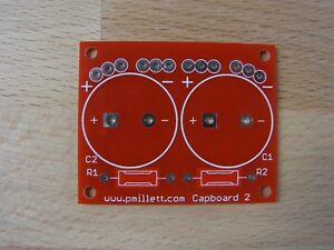 DIY-PCB-Smaller-cap-board-for-tube-amp-for-snapmount-electrolytic-caps