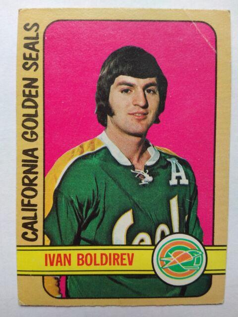 1972-73 OPC O-Pee-Chee #41 Ivan Boldirev RC California Golden Seals - VG